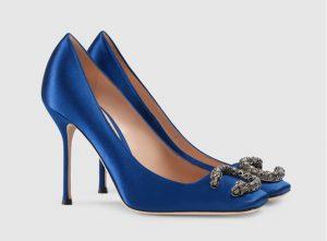 Tacones Gucci Azules