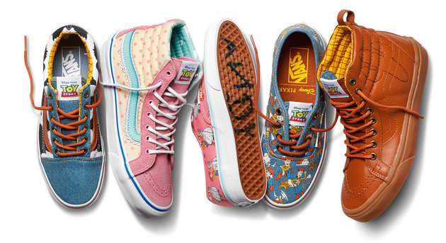 Vans Toy Story Woody oro