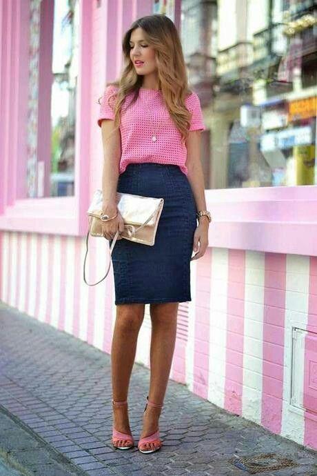 271c6e1491b7 Faldas de Jean: Un accesorio que no puede faltar en tu closet