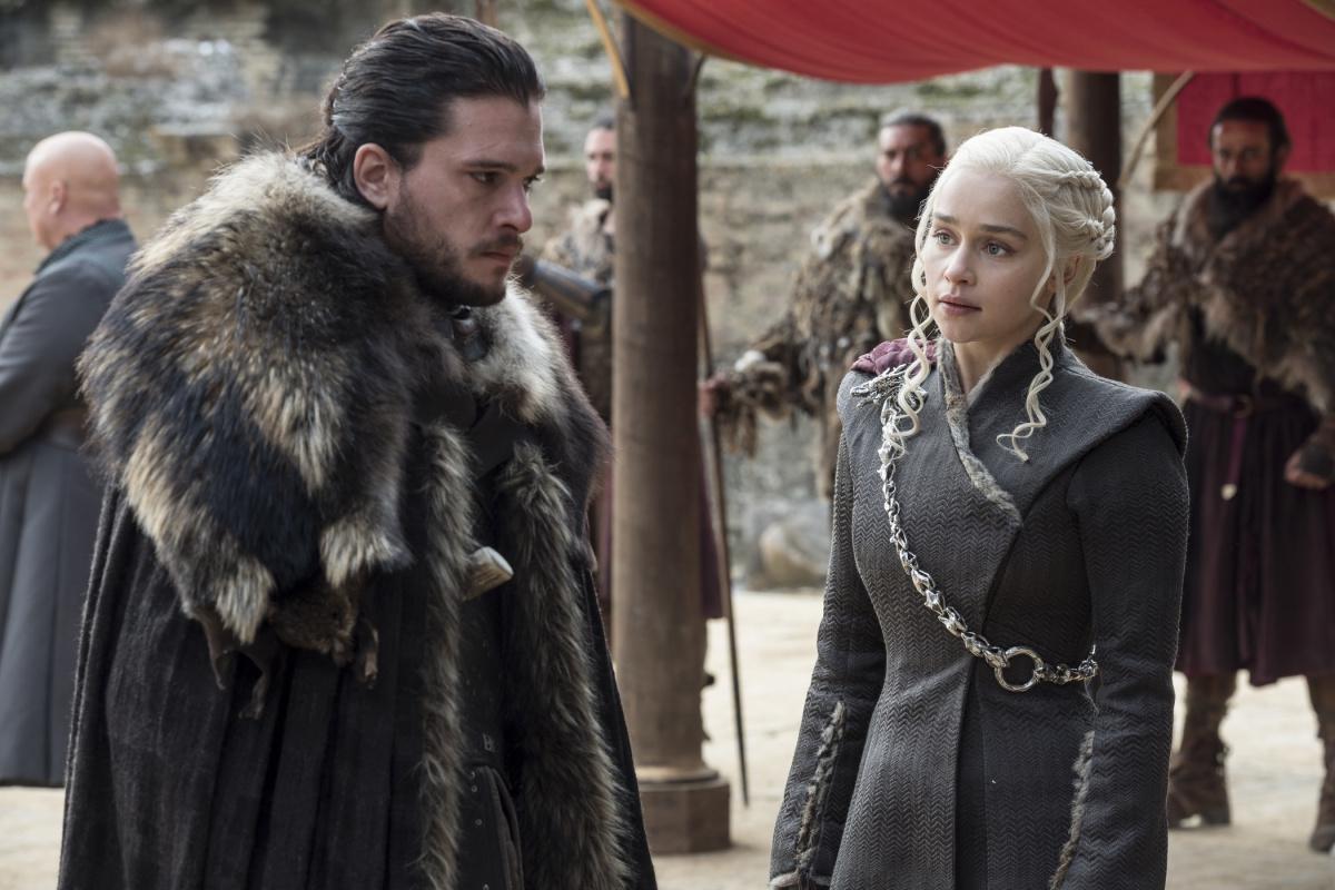 Jon Snow Daenerys GOT
