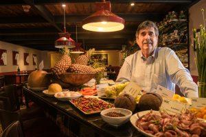 Jean Paul Coupal , presidente de Café Arábica y DOC Restaurant.