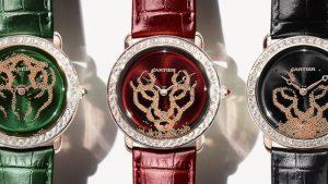 relojes cartier en varios colores