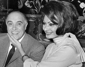 """""""Sophia Loren y Carlo Ponti"""""""