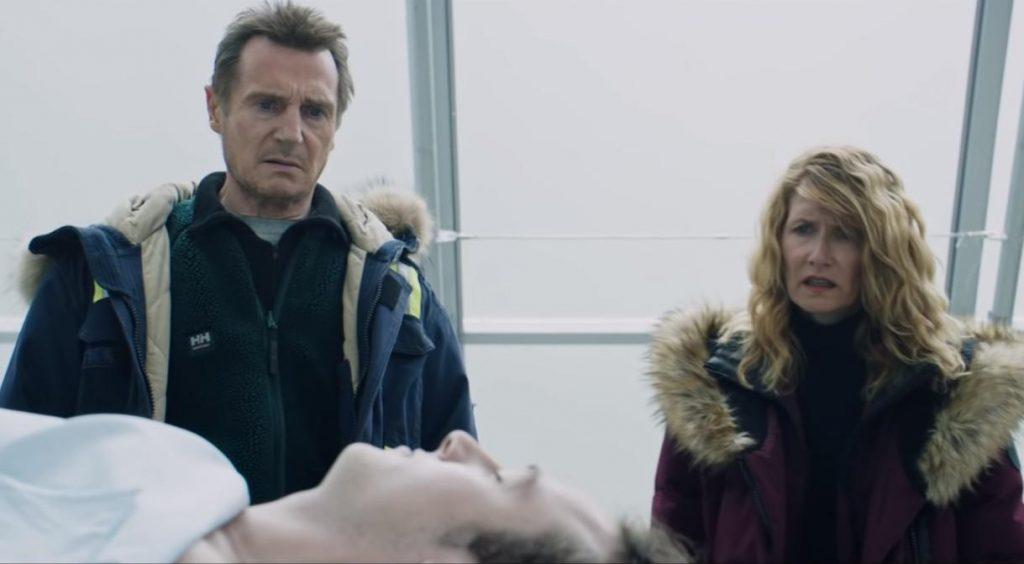 Liam Neeson & Laura Dern