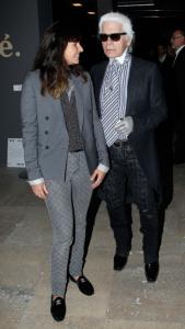 Virginie Viard & Karl Lagerfeld