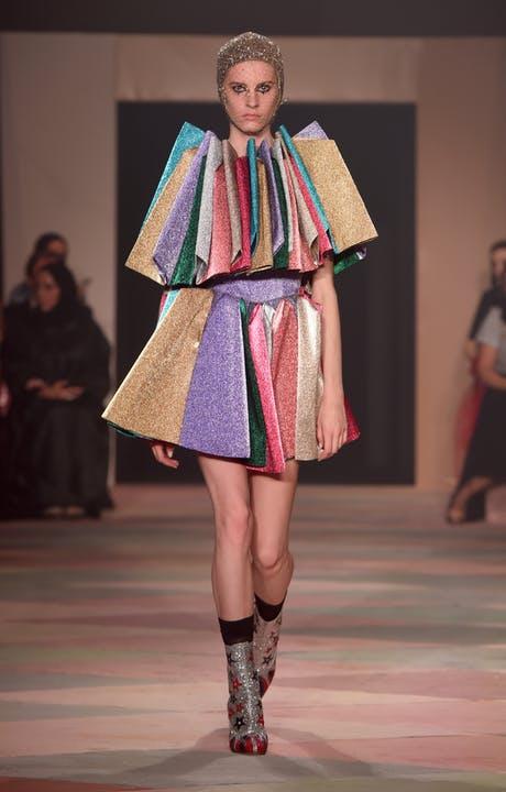 desfile Dior en Dubái