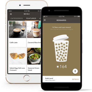 iphone starbucks app
