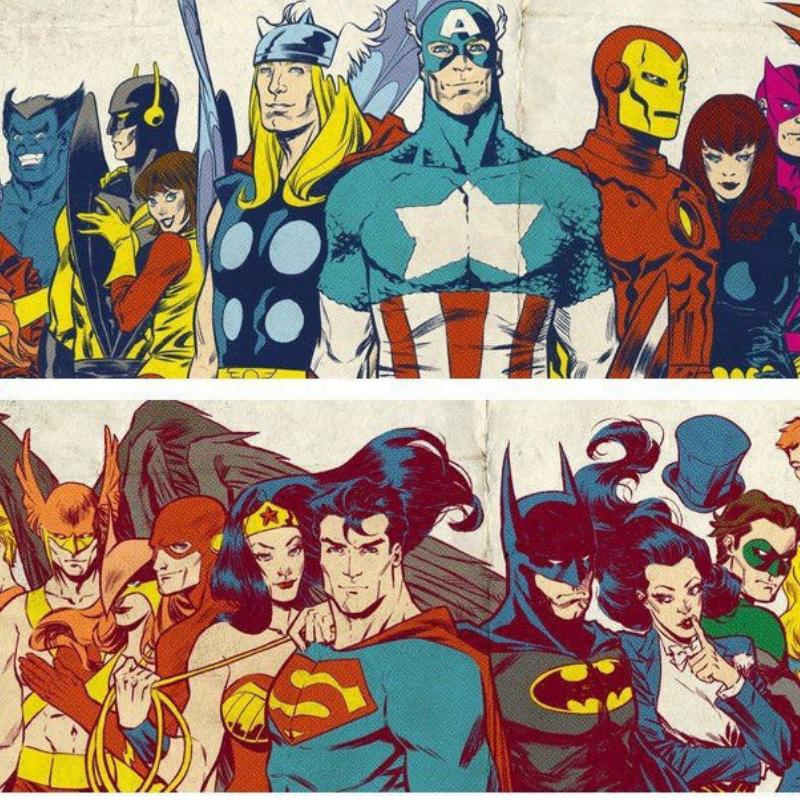 Marvel y DC