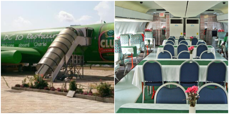 La Tante DC10, Accra, Ghana