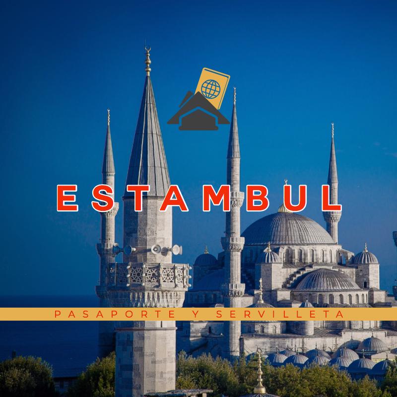 Pasaporte y servilleta: Estambul