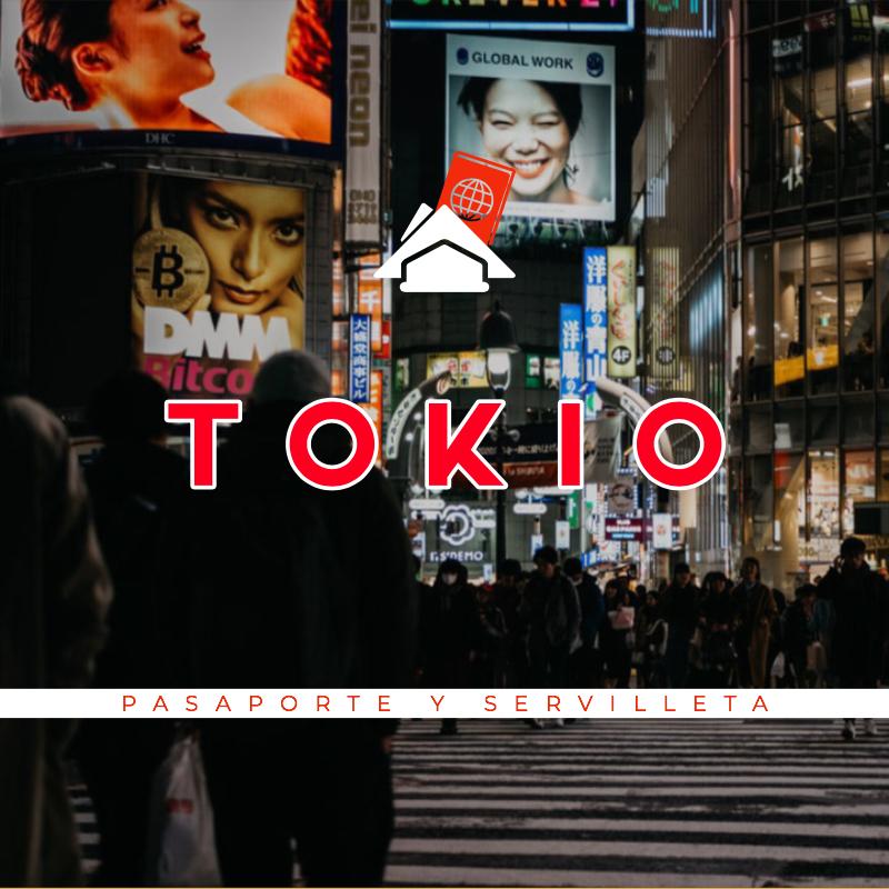 pasaporte y servilleta: tokio