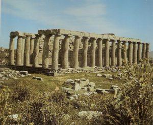 Templo de Apolo Epicuro en Bassae