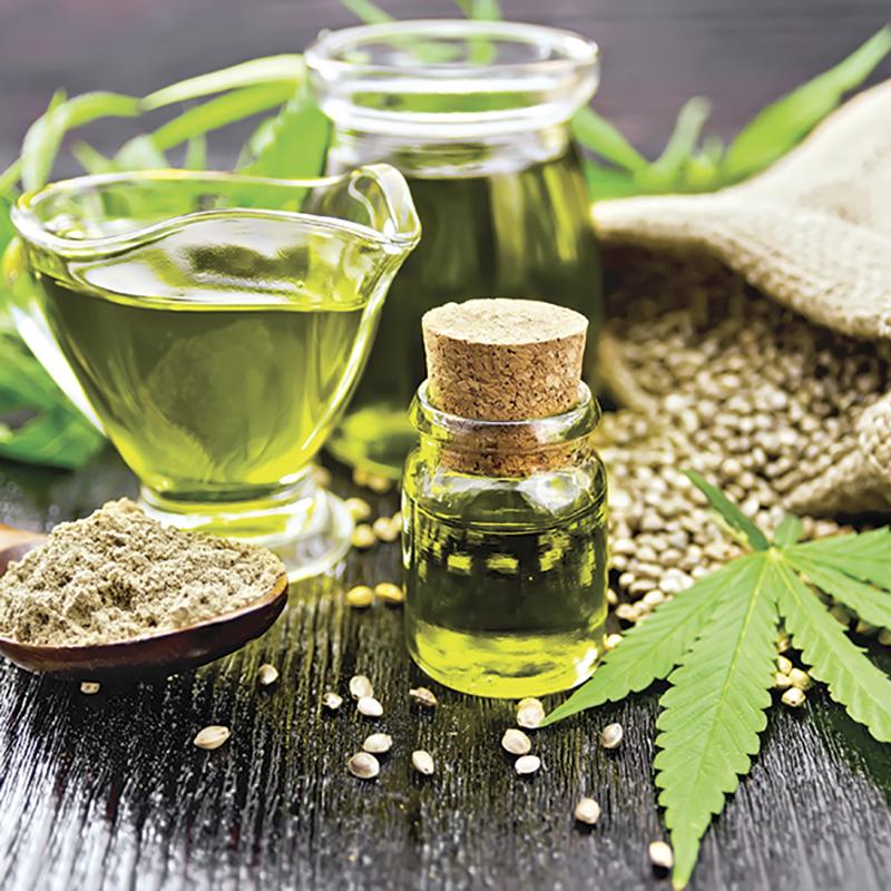 Un aceite de la planta de marihuana es un ingrediente de moda en ...
