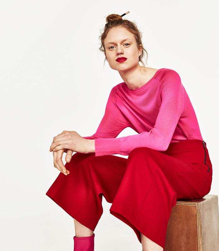 tendencia rojo rosa
