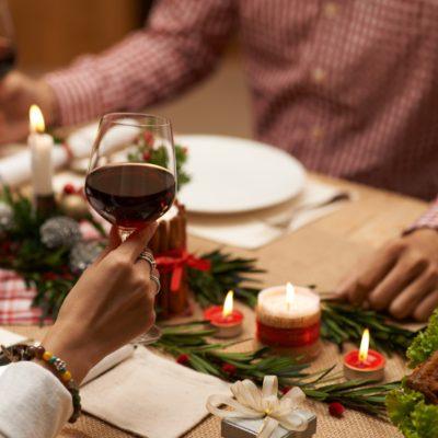 Decoracion de mesas en navidad
