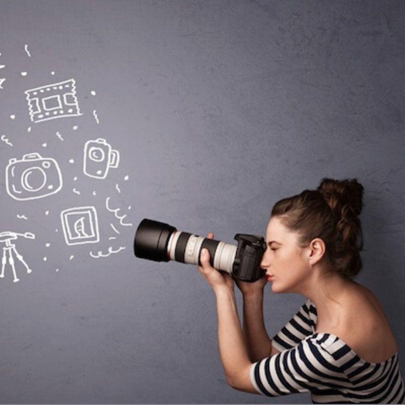 fotografía en casa