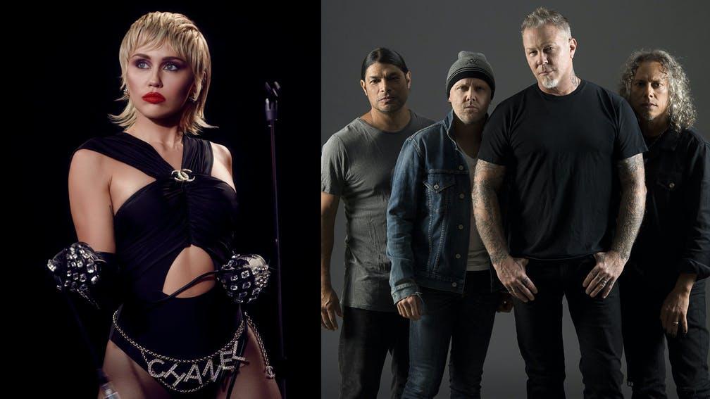 Miley Cyrus Metallica