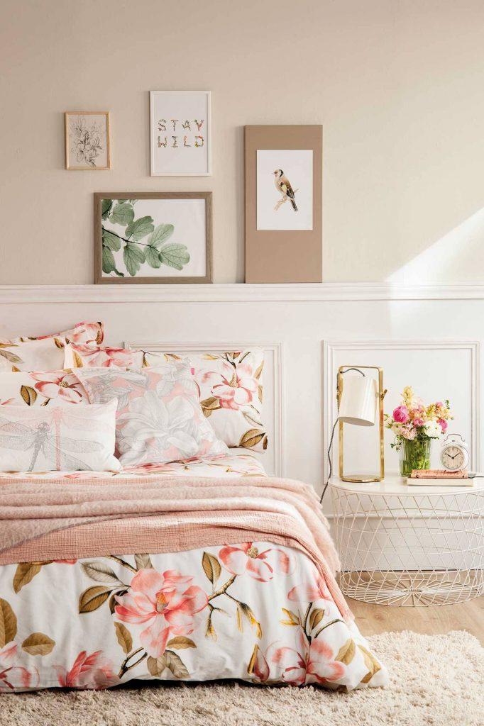 Decora tu habitación con un estilo clásico y fresco