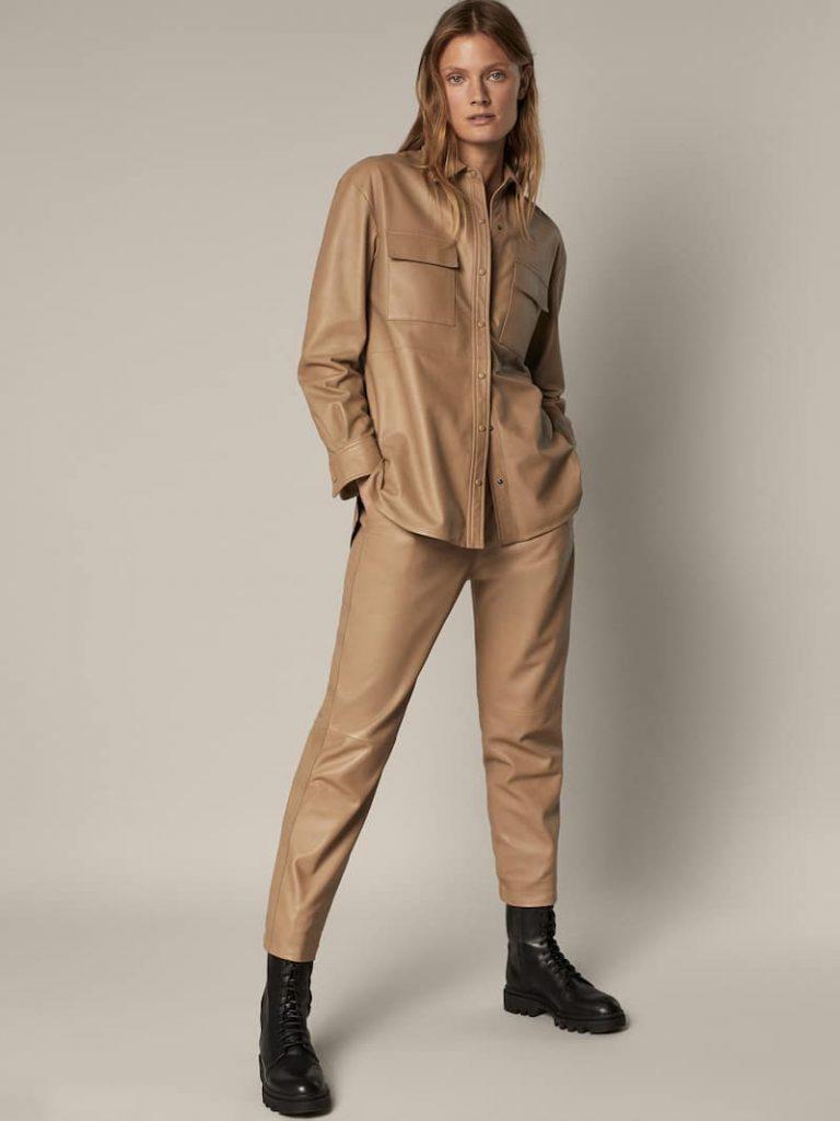 Massimo Dutti crea las delicias del joging fit pants