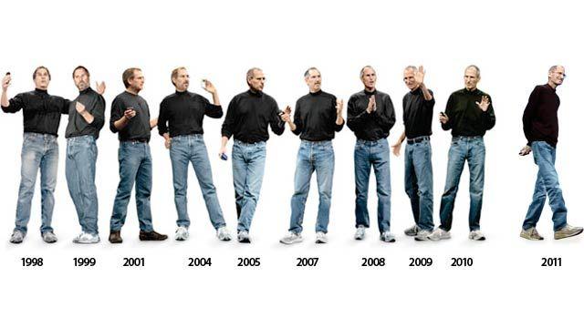 ¿Por qué Steve Jobs utilizaba siempre las mismas prendas?