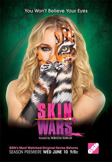 El maquillaje artsy: una forma de arte en la piel