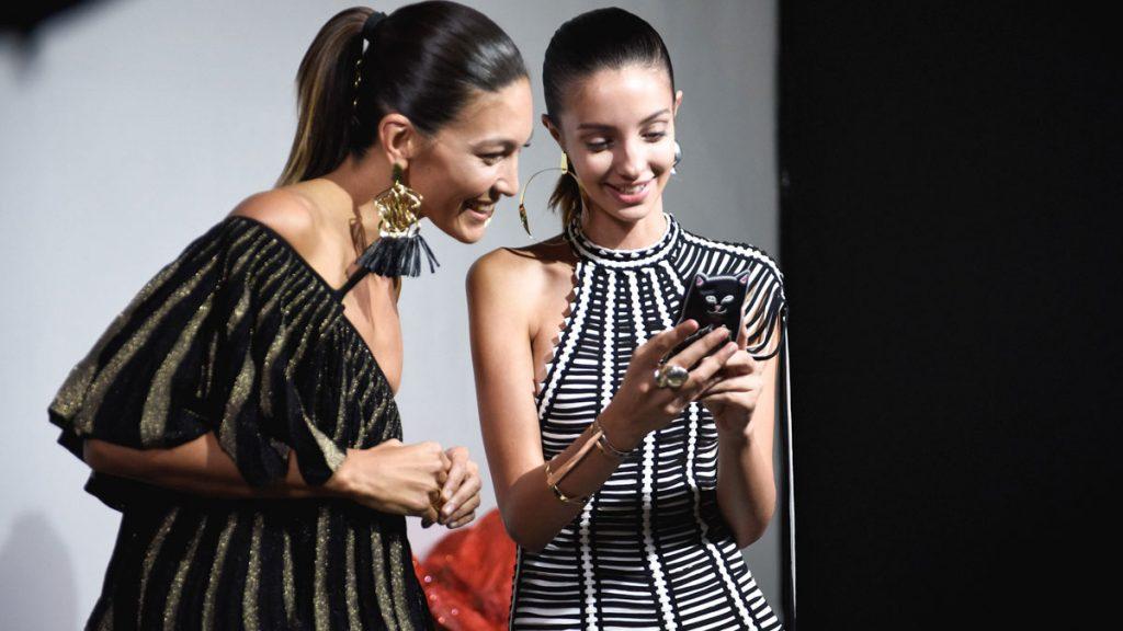 las redes sociales y la moda